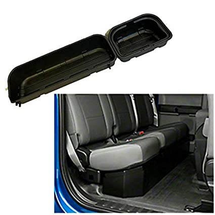 Remarkable Abs Black Underseat Storage Box Detachable Style 2015 2019 Ford F150 Super Crew Cab Ocoug Best Dining Table And Chair Ideas Images Ocougorg