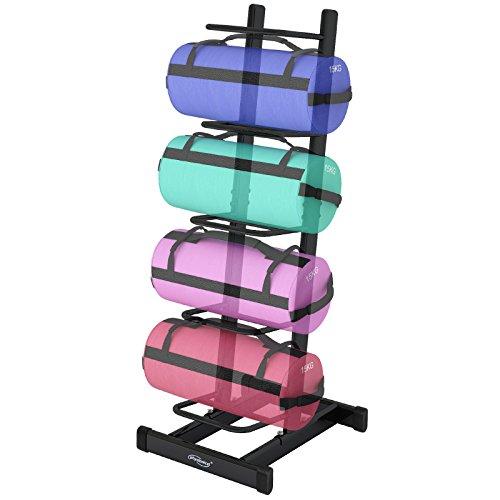 Physionics - Rack de rangement pour sac lesté/sac bulgare - capacité de charge jusqu'à 200 kg