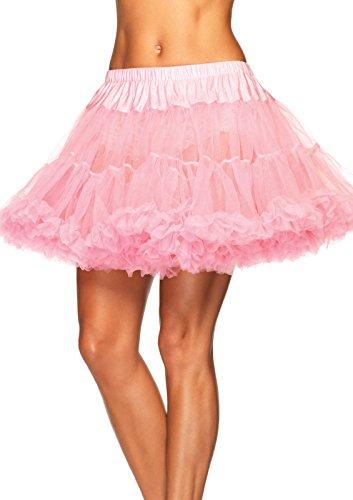 Leg Avenue Women's Petticoat, Light Pink, One - Pink Avenue