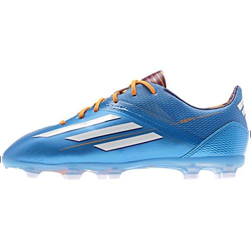 Adidas Schuhe Nockenschuhe F50 Fu脽ball adizero FG Nockenschuhe Kinder Junior Kinder solblu/runwh