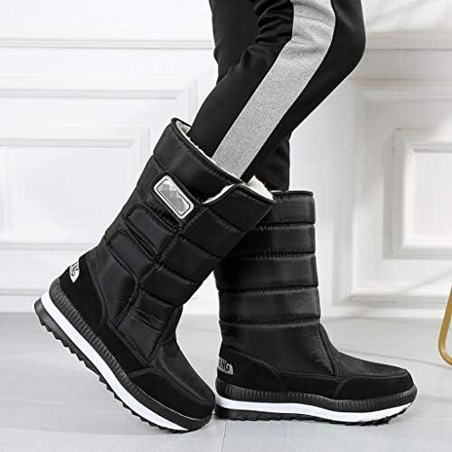 ナイロンバックパッキング暖かいアウトドアシューズ男性ノンスリップブラック防雨フェイクファーのための雪のブーツは、冬の寒い天気の靴を裏地 (色 : 緑, サイズ : 26 CM)