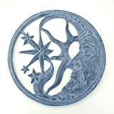 SPI Home 31830 Moon and Star Wall Plaque