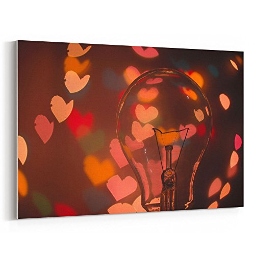 - Westlake Art - Light Bulb - 12x18 Canvas Print Wall Art - Canvas Stretched Gallery Wrap Modern Picture Photography Artwork - Ready to Hang 12x18 Inch (8F10-E7E9B)