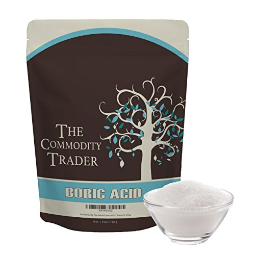The Commodity Trader Boric Acid Granules, 1 LB ()