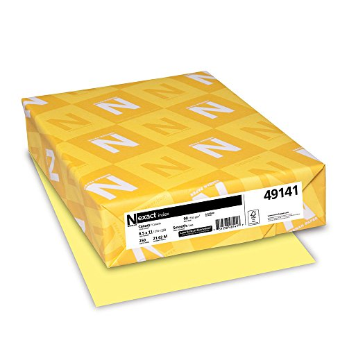 90 Lb Index Cardstock - Exact Index Cardstock, 8.5