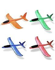 لعبة طائرة شراعية تُرَكب وتُرمى باليد، لعبة طائرة من الإسفنج، لعبة أطفال مقاومة للانكسار