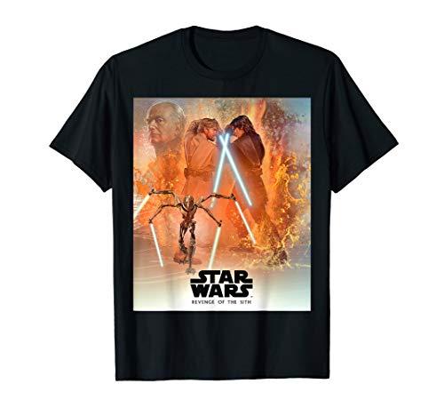 - Star Wars Celebration Mural Revenge of the Sith Logo T-Shirt