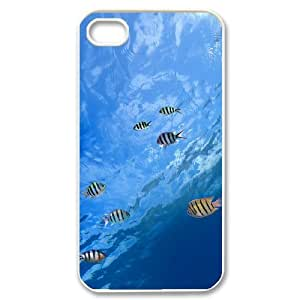 CHSY CASE DIY Design Mysterious underwater world 1 Pattern Phone Case For Iphone 4/4s