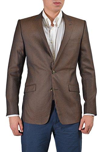 Versace Collection Men's Multi-Color Silk Wool Sport Coat Blazer US 38 IT ()