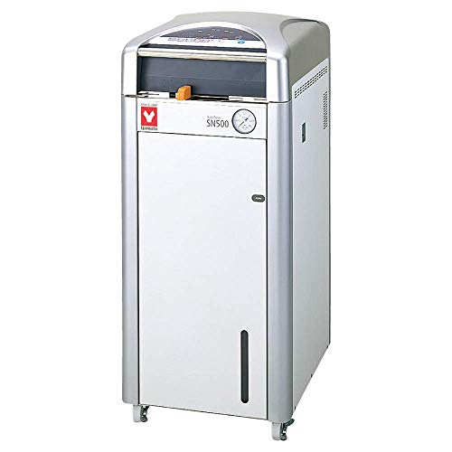 (Yamato SN-500C Autoclave with Built-in Cooling Fan, 47 L Chamber Capacity, 100V to 120V, 19.5 amp to 20 amp)