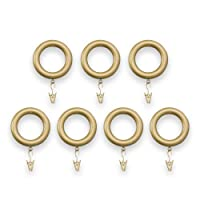 Source Global Tension Rod Clip Rings, Bronze, (2 Sets of 7-Pack)