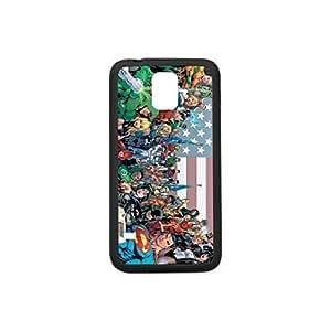 Custom Case for Samsung Galaxy S5,Superhero Plastic and TPU Case