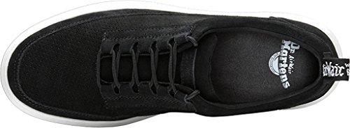 Dr. Martens Mens Reuban 5 Sneakers Pour Les Yeux En Daim Noir