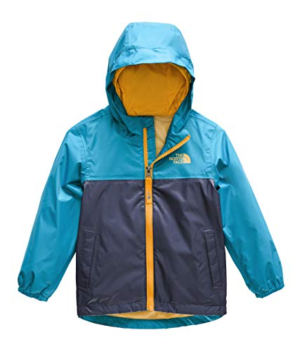 The North Face Kids Baby Boy's Zipline Rain Jacket (Toddler) Caribbean Sea 2T Toddler
