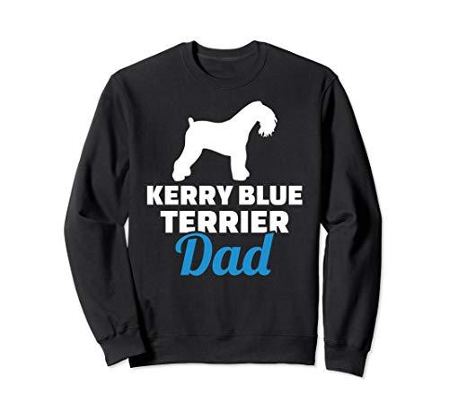 Kerry Blue Terrier dad Sweatshirt
