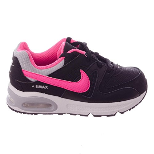 Nike Air Max Command (Td), Black/Pink Pow-Wolf Grey-White, Größe 26