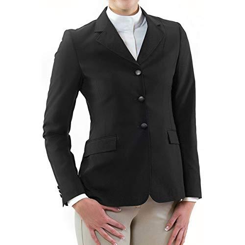 RJ Classics Ladies Sydney Softshell Hunt Coat (Black, 22R)