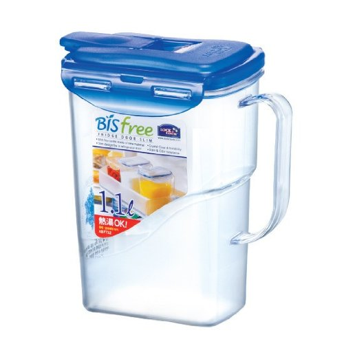 LOCK & LOCK Bisfree Mini Pitcher, 1.1 L, Clear by LOCK & LOCK