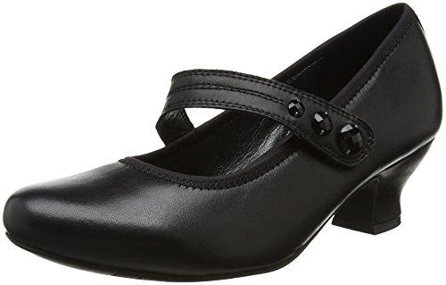 HotterCharmaine - Zapatos de Tacón mujer Black (Black)
