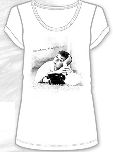 Audrey Hepburn Telefono T-shirt large