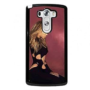 Funda Cover For LG G3 Beyonce Phone Funda Hot Singer Pattern