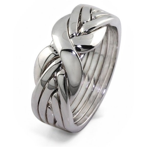 mens greek s titanium ring men piece key puzzle rings