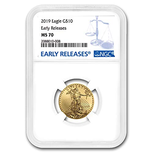 (2019 1/4 oz Gold American Eagle MS-70 NGC (Early Releases) (1/4) MS-70 NGC )