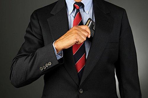 Pure Sir Mens RFID Genuine Leather Slim Wallets w/ Money Clip - The Minimalist Wallet