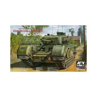 (AFV Club 1/35 Churchill MK VI/75mm Gun AF35S52)
