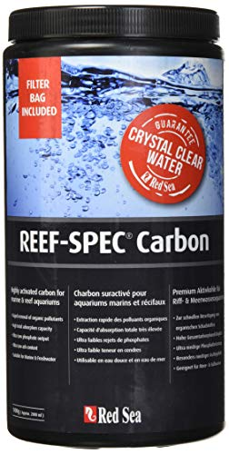(Reef Red Sea Spec Carbon - Aquarium Filter Media (2000 Ml/ 64 Oz), Black)