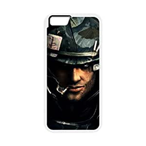 50 caliber iPhone 6 4.7 Inch Cell Phone Case White PSOC6002625583559