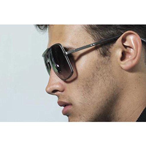 contra Gafas En Proteccion amp;transparent Vida Chico Clásico Black Diaria Sol Hombres Lentes Gafas Vestir Reflejos de Zhuhaitf Perjudicial UV Sunglasses sin w7IPBPqp