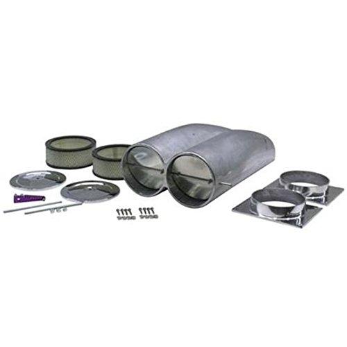 - Shotgun Bill's Scoop Aluminum Air Intake Scoop, Plain Finish