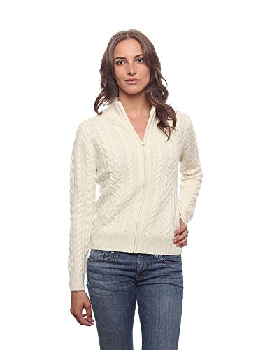 Zip Front Cashmere Sweater - 7
