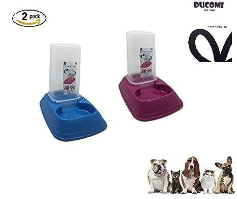Ducomi® – Dispensador automático para perro y gato – Ajusta la cantidad de pienso y agua para perros, gatos y conejos – 700 ml: Amazon.es: Bricolaje y ...