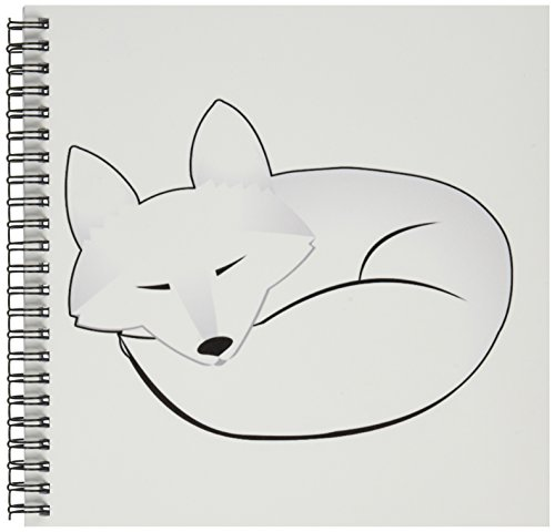 3dRose db 175375 1 Sleeping Drawing 8 Inch
