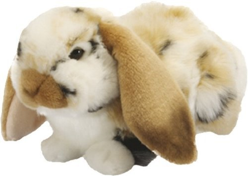 Living Nature AN500 Dutch Lop Ear Brown & Baby Bunny Gift Bundle, White, One Size