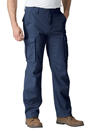 Tall Summit Cargo Pants, Navy Big-4638 (Summit King)