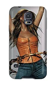 AnnaSanders Design High Quality Beyonce Shaking It Female Singer Knowles Dancing Big Ring Waist People Women Cover Case With Excellent Style For Galaxy S5 wangjiang maoyi