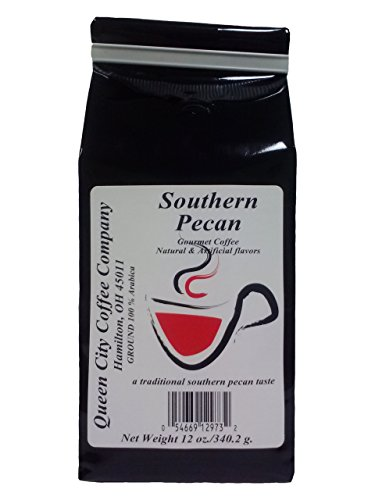 Queen City Southern Pecan Coffee, 12 ounce ()