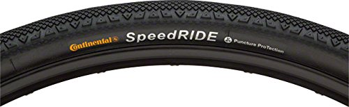 - Continental Speed Ride Folding Tire, Black, 700 x 42cc