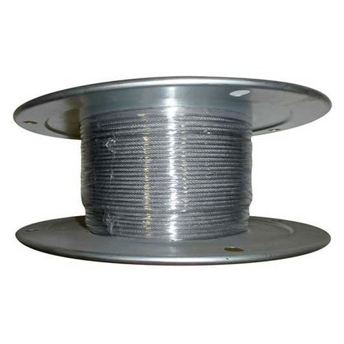 Advantage 500' 5/16'' Diameter 7x19 Stainless Steel Aircraft Cable by Advantage