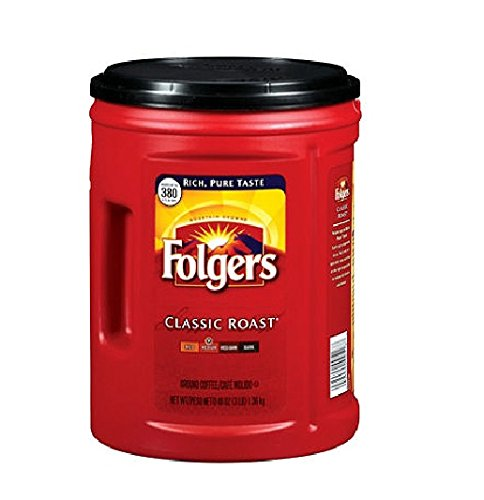Folgers Coffee  Classic Medium  Roast  48 Ounce  Pack Of 2