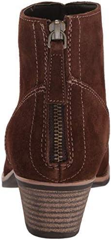 Skechers Women's Lasso-Caravel-Short Zip-on Ankle Boot