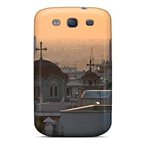 Durable Case For The Galaxy S3- Eco-friendly Retail Packaging(thessaloniki Sunset)