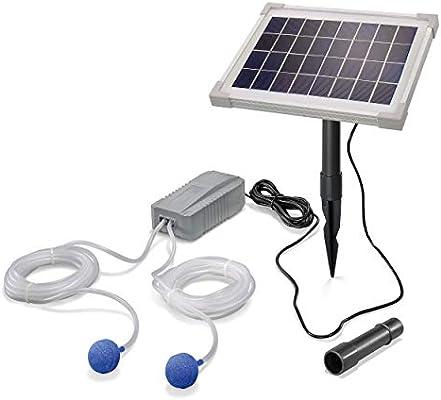 Esotec pro 101844 - Ventilador solar para estanque (5 W, 200 l/h ...