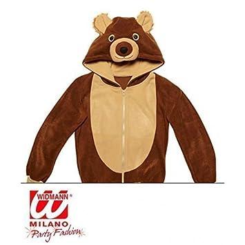 Sudadera con capucha chaqueta de lindo // // disfraz de animales como un oso pardo/oso vestido con capucha traje // M talla S: Amazon.es: Juguetes y juegos