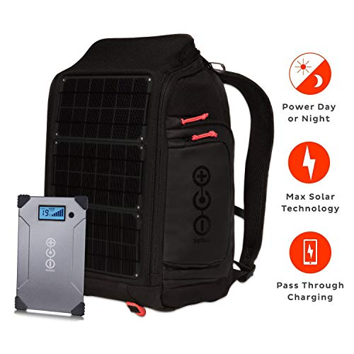 Voltaic Systems Array Rapid Solar Backpack Charger for Laptops | Includes a Battery Pack (Power Bank) and 2 Year Warranty | Powers Laptops Including MacBook