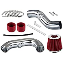 "RL Concepts 3"" Red Cold Air Intake Induction Kit + Filter For 02-06 Subaru Impreza WRX/STi 2.0L/2.5L Turbo"
