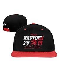 DRE2584WWF Toronto- Raptors 2019 NBA Boys and Girls Hip-Hop Baseball Cap Adjustable Cap